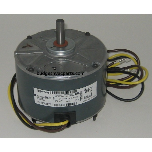 Ge condenser fan motor 5kcp39bgs069s for Carrier condenser fan motor replacement