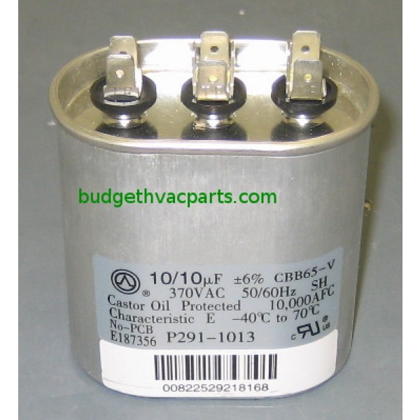 wiring to furnace humidifier ge dual capacitor 27l180